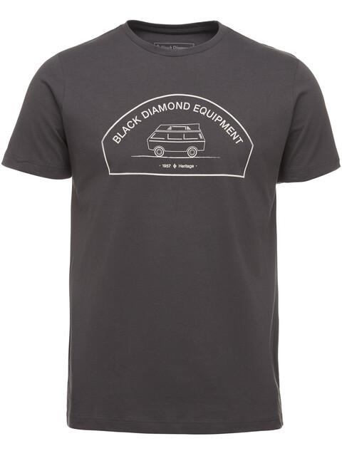 Black Diamond Rock Van - T-shirt manches courtes Homme - gris